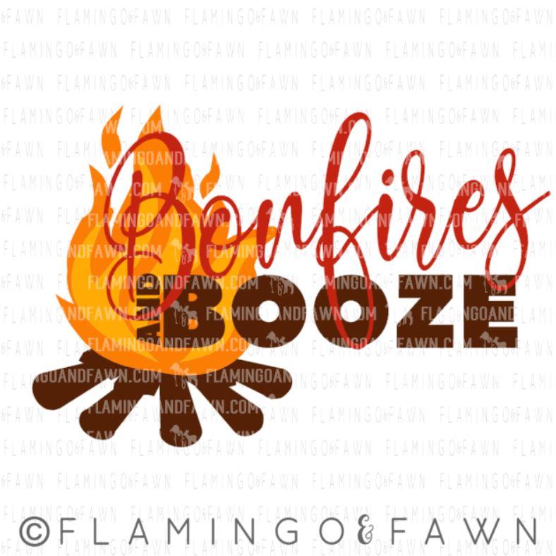 bonfires and booze svg