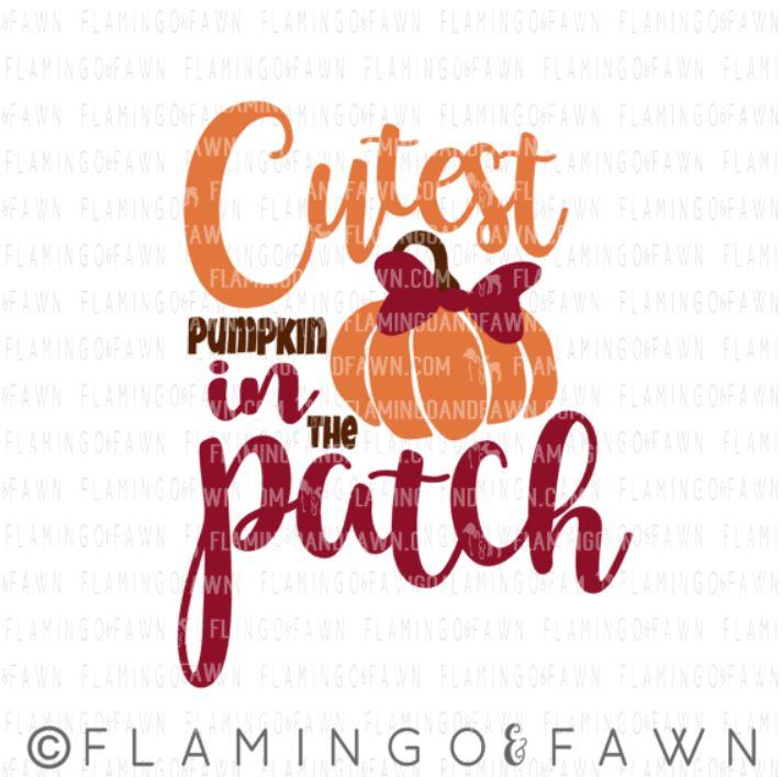 cutest pumpkin svg