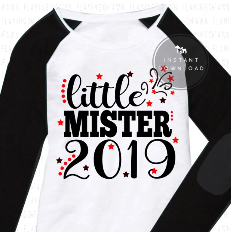 LITTLE MISTER 2019 svg