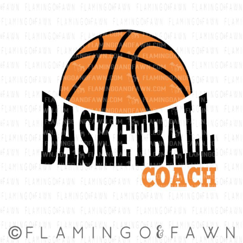 basketball coach svg