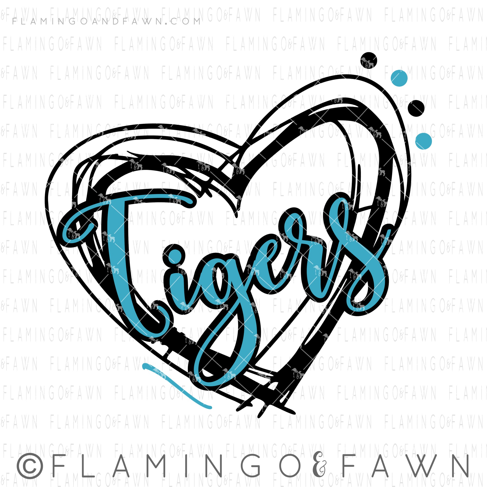 tigers svg cut file