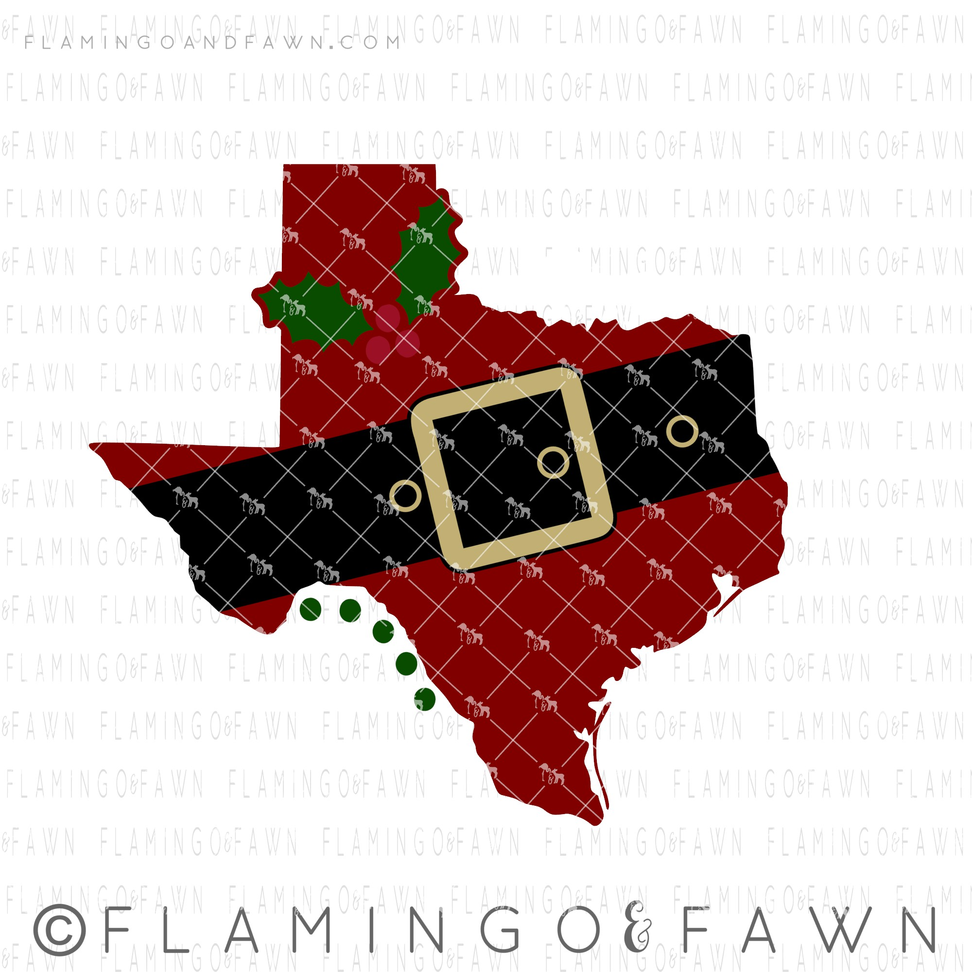 texas christmas svg