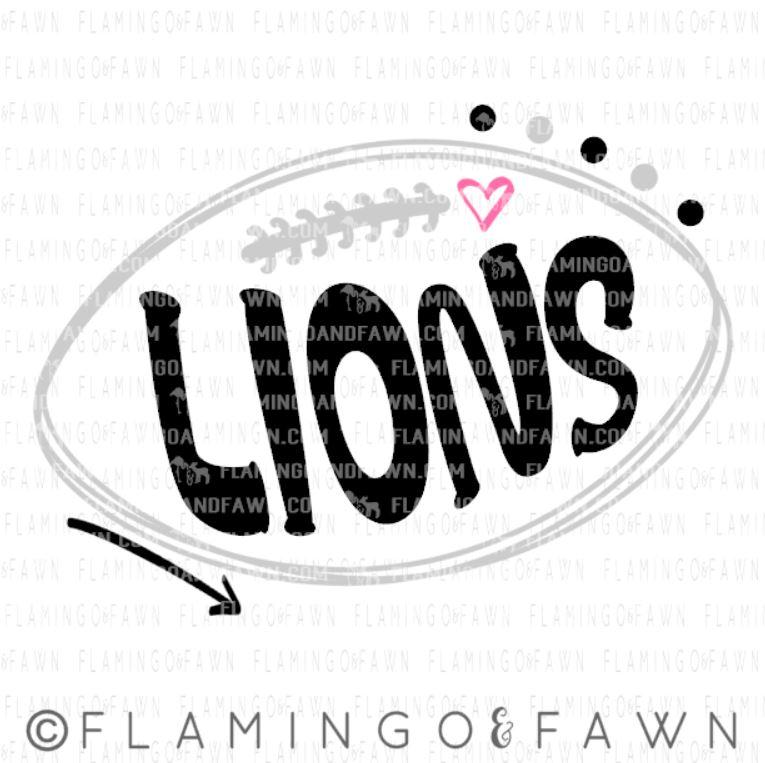 Lions svg