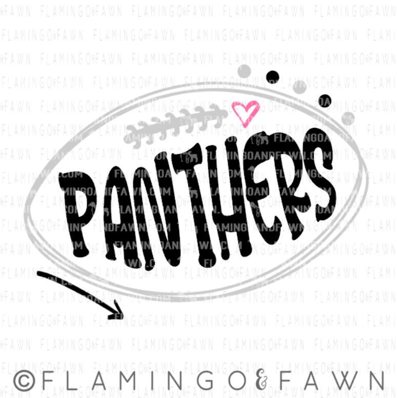 panthers football svg